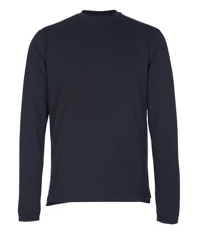 MASCOT® Albi - Marine foncé - T-shirt, manches longues, coupe moderne