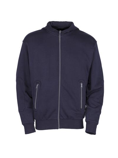 MASCOT® Altea - Marine - Sweat capuche zippé, coupe moderne