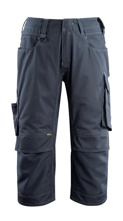MASCOT® Altona - Marine foncé - Pantacourt avec poches genouillères en CORDURA®, poids léger