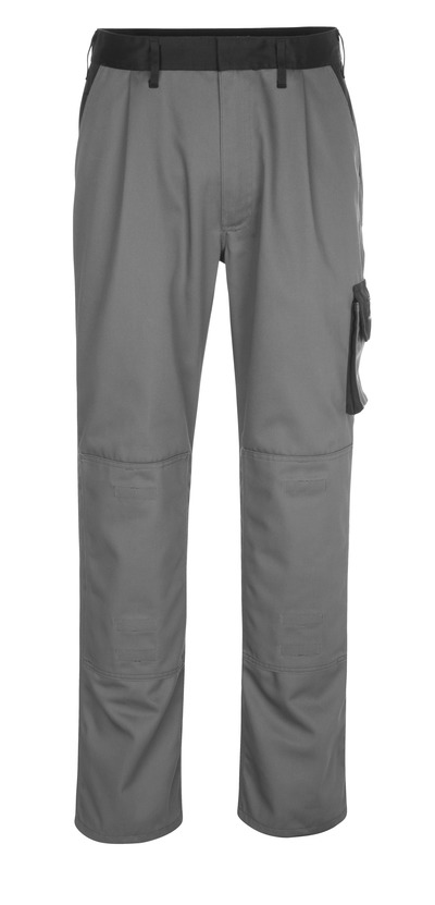 MASCOT® Ancona - Anthracite/Noir - Pantalon avec poches genouillères, poids léger