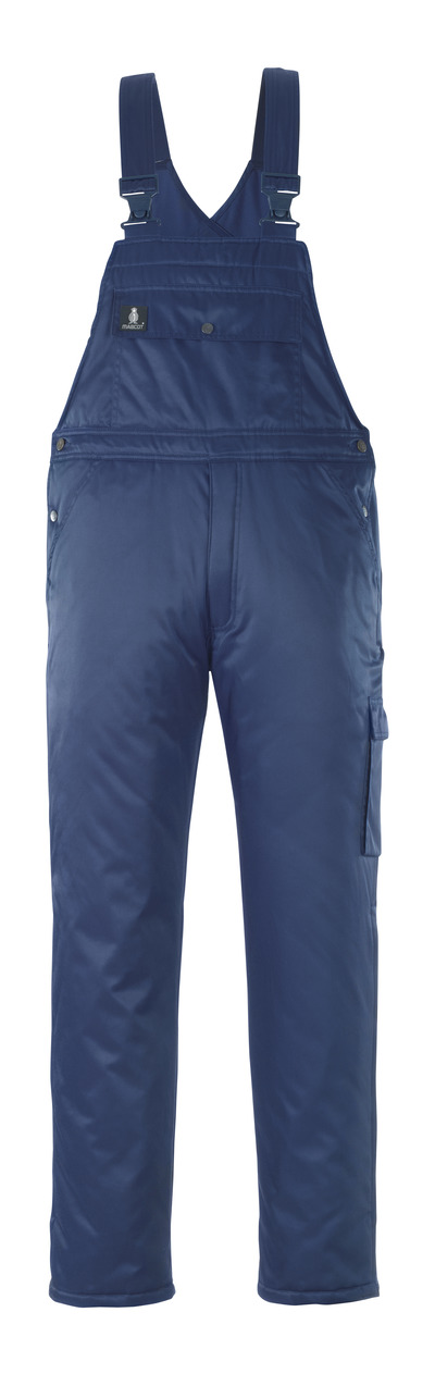 MASCOT® Antarktis - Marine - Salopette grand froid avec doublure matelassée, en Bearnylon® hydrofuge