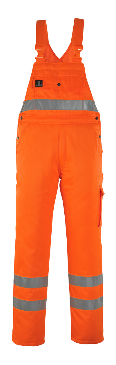 MASCOT® Antarktis - Hi-vis orange* - Salopette grand froid avec doublure matelassée, hydrofuge, classe 2/2