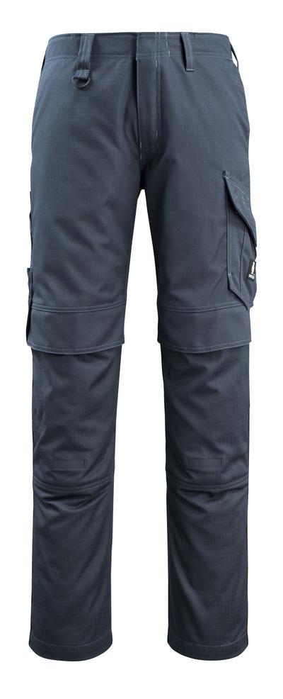 MASCOT® Arosa - Marine foncé - Pantalon avec poches genouillères, repousse la saleté, multiprotection