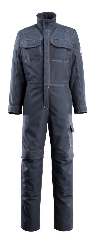 MASCOT® Baar - Marine foncé - Combinaison avec poches genouillères, multiprotection