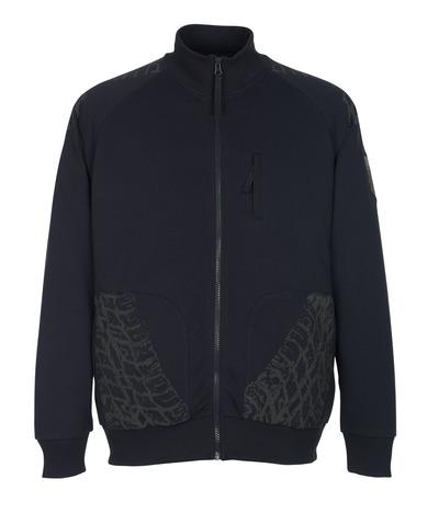 MASCOT® Belfort - Marine foncé* - Sweatshirt zippé