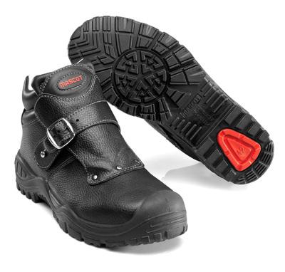 MASCOT® Boron - Noir - Bottes de sécurité S3 avec fermeture à sangle
