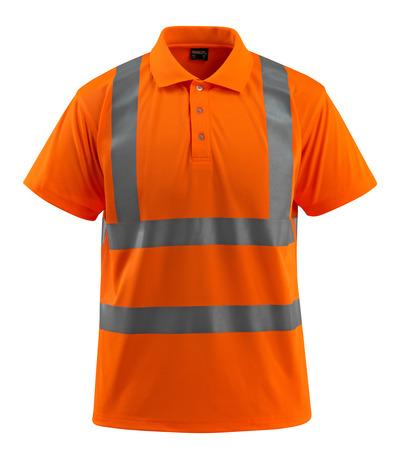 MASCOT® Bowen - Hi-vis orange - Polo, coupe classique, classe 2