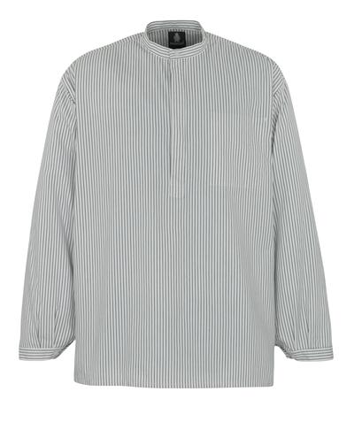 MASCOT® Buffalo - Blanc/Marine - Chemise de maçon
