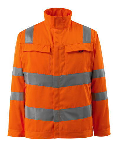 MASCOT® Bunbury - Hi-vis orange - Veste, haute solidité, unicolore, classe 3