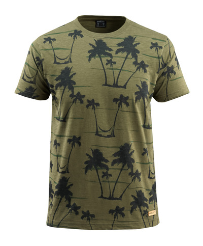 MASCOT® Bushwick - Vert foncé* - T-shirt