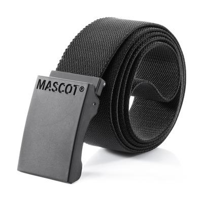 MASCOT® COMPLETE - Noir - Ceinture avec boucle réglable, élastique