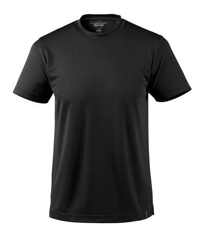 MASCOT® CROSSOVER - Noir - T-shirt, évacuant l'humidité CoolDry, coupe moderne