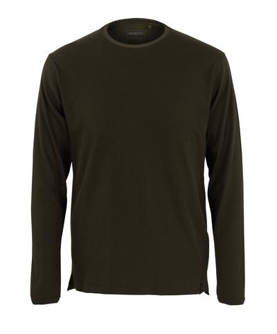 MASCOT® Crato - Vert olive foncé* - T-shirt, manches longues