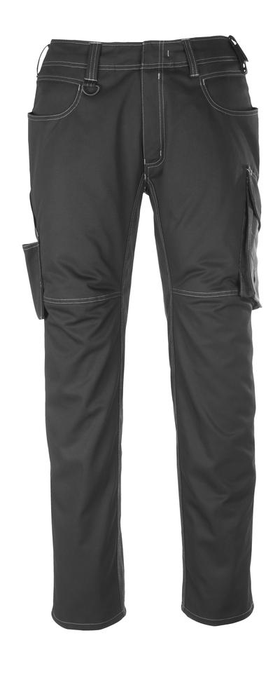 MASCOT® Dortmund - Noir/Anthracite foncé - Pantalon, haute solidité
