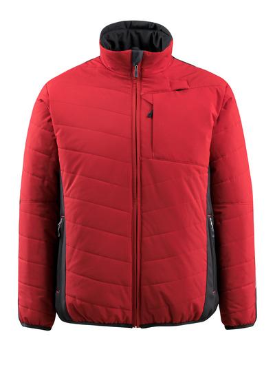 MASCOT® Erding - Rouge/Noir - Veste avec doublure, hydrofuge, haute isolation