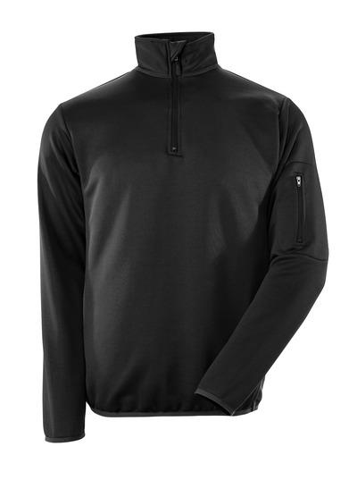 MASCOT® Estela - Noir/Anthracite foncé - Sweatshirt polo