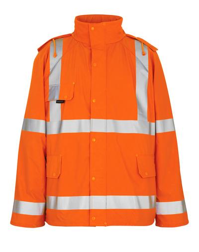 MASCOT® Feldbach - Hi-vis orange - Veste de pluie, coupe-vent et imperméable, classe 3