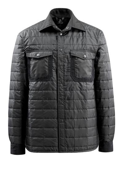 MASCOT® Fraga - Noir - Chemise avec doublure et boutons-pression