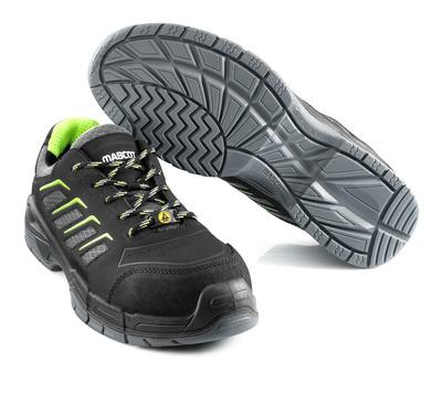 MASCOT® Fujiyama - Noir - Chaussures de sécurité S1P à lacets