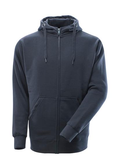 MASCOT® Gimont - Marine foncé - Sweat capuche zippé, coupe moderne