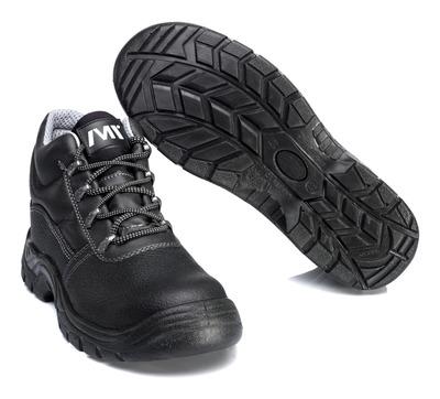 MACMICHAEL® Greenhorn - Noir - Bottes de sécurité S3 à lacets