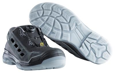MASCOT® Grofa - Noir/Anthracite - Sandale de sécurité S1P à fermeture Boa®