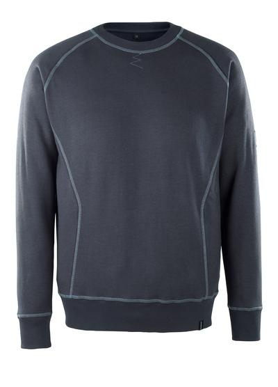 MASCOT® Horgen - Marine foncé - Sweatshirt, multiprotection, coupe moderne
