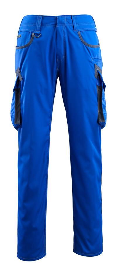 MASCOT® Ingolstadt - Bleu roi/Marine foncé - Pantalon avec poches cuisse, poids très léger
