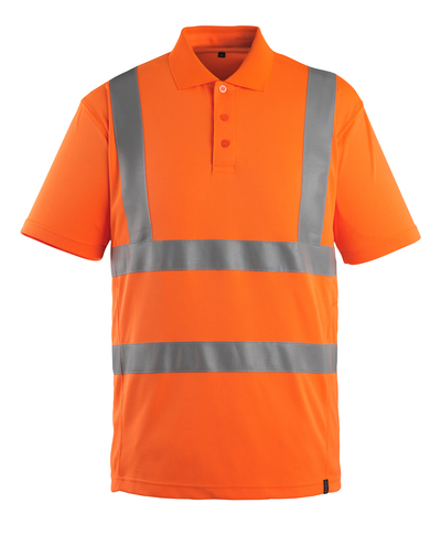 MASCOT® Itabuna - Hi-vis orange - Polo, coupe moderne, classe 2