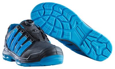MASCOT® Kailash - Noir/Bleu pétrole* - Chaussures de sécurité S3 à fermeture Boa®