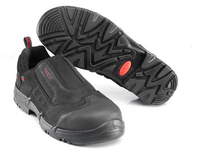 MASCOT® Katesh - Noir/Rouge* - Chaussures de sécurité S1P à fermeture par élastique