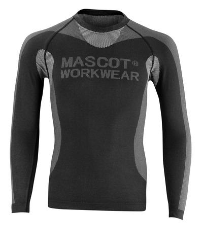 MASCOT® Lahti - Noir - Tricot de corps thermique, poids léger, isolant
