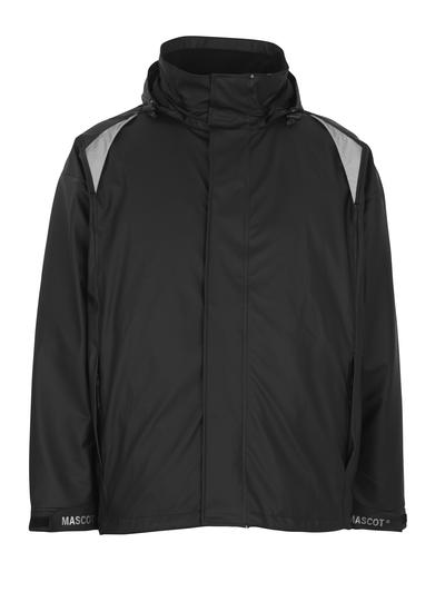 MASCOT® Lake - Noir - Veste de pluie, coupe-vent et imperméable