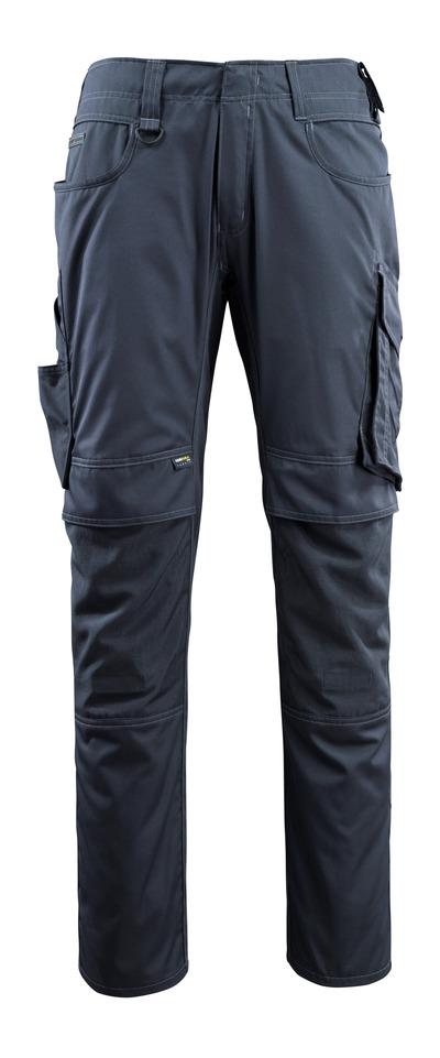 MASCOT® Lemberg - Marine foncé - Pantalon avec poches genouillères en CORDURA®, poids très léger