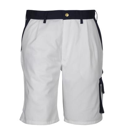 MASCOT® Lido - Blanc/Marine*/¹) - Short, haute solidité