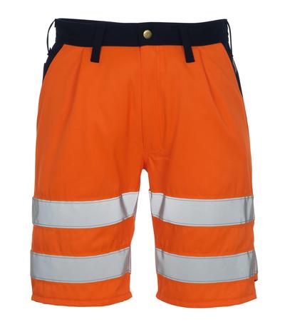 MASCOT® Lido - Hi-vis orange/Marine* - Short, classe 1/2