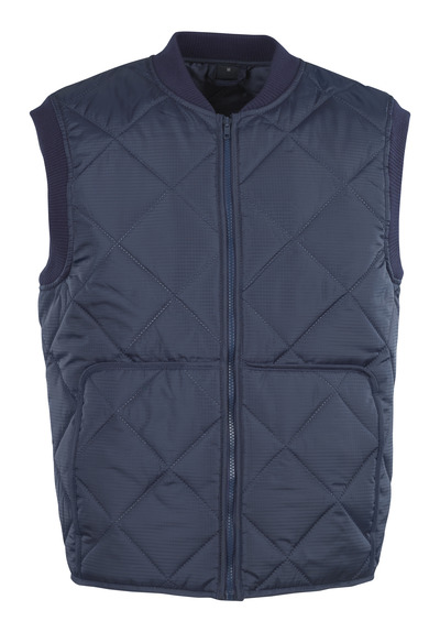 MASCOT® Liverpool - Marine - Gilet thermique avec poches frontales