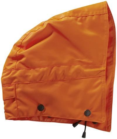 MASCOT® MacCall - Hi-vis orange - Capuche avec boutons-pression et doublure, imperméable