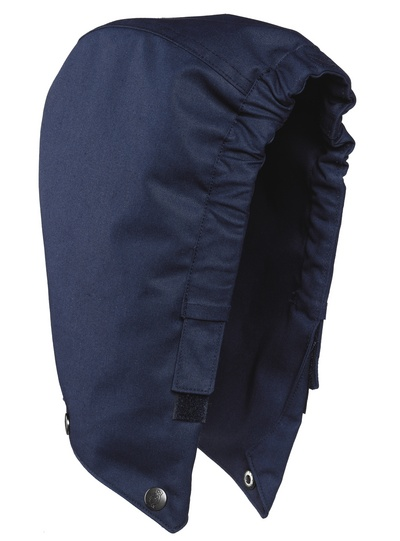 MASCOT® MacGill - Marine - Capuche avec boutons-pression, multiprotection, imperméable