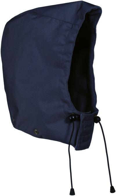 MASCOT® MacKay - Marine - Capuche avec boutons-pression et doublure, imperméable