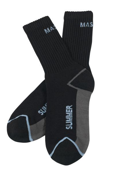 MASCOT® Manica - Noir - Chaussettes, évacuant l'humidité