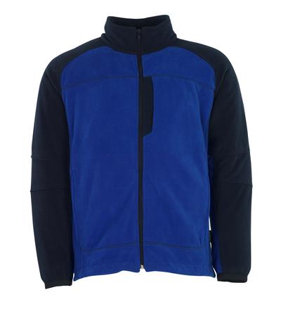 MASCOT® Messina - Bleu roi/Marine - Veste polaire anti-boulochage