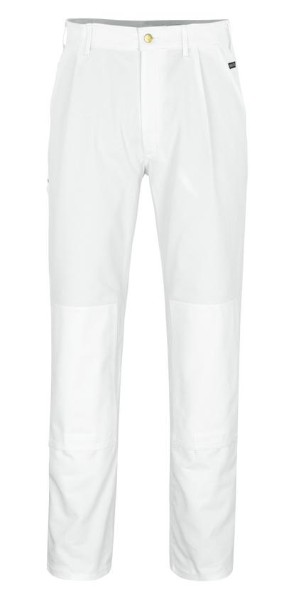 MASCOT® Michigan - Blanc* - Pantalon avec poches genouillères
