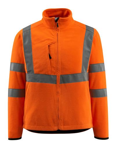 MASCOT® Mildura - Hi-vis orange - Veste polaire avec col montant, classe 3