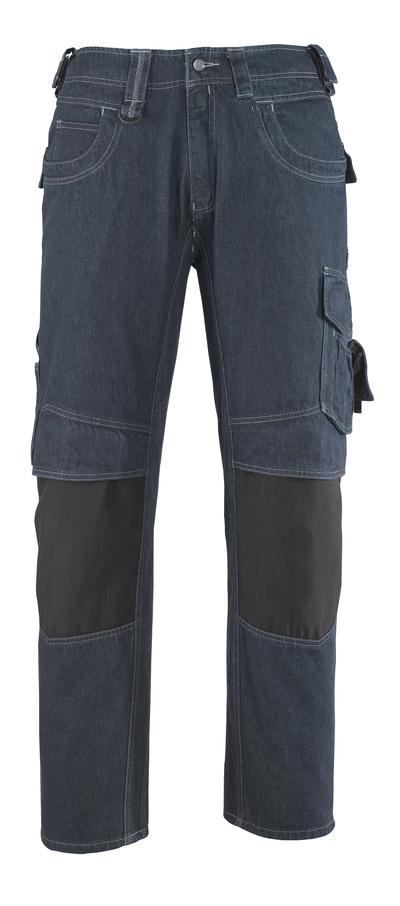 MASCOT® Milton - Bleu denim* - Jeans avec poches genouillères