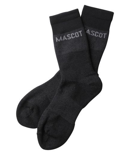 MASCOT® Moshi - Anthracite foncé chiné - Chaussettes, évacuant l'humidité