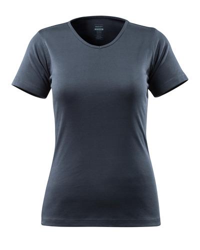 MASCOT® Nice - Marine foncé - T-shirt, modèle femme, encolure en V