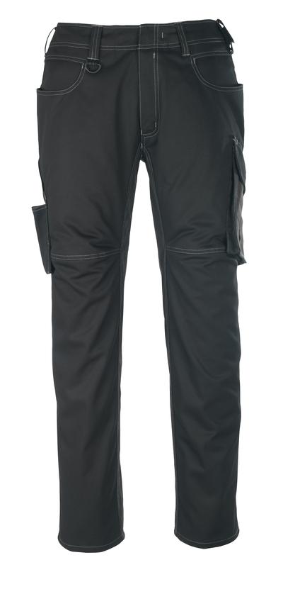 MASCOT® Oldenburg - Noir/Anthracite foncé - Pantalon, poids léger