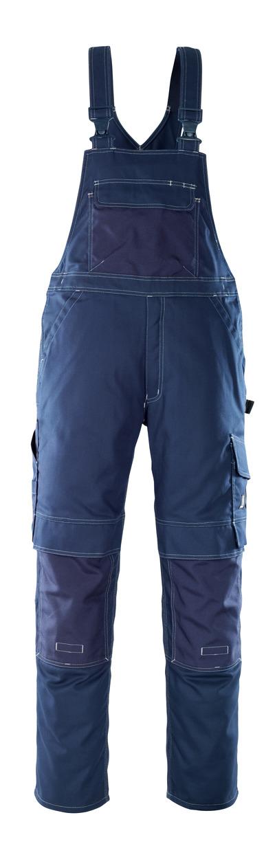 MASCOT® Orense - Marine - Salopette avec poches genouillères, haute solidité