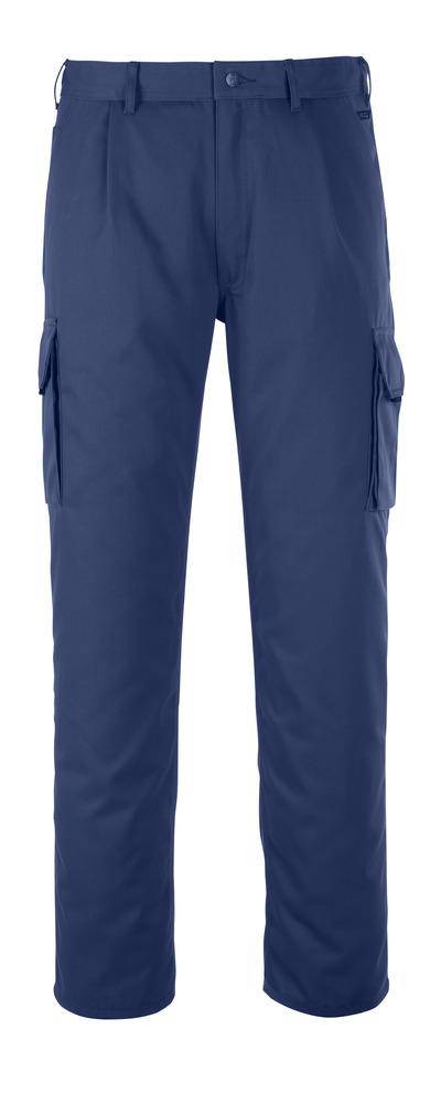MASCOT® Orlando - Marine - Pantalon avec poche cuisse, haute solidité